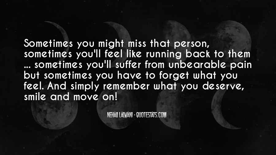 Can't Move On Love Quotes #151355