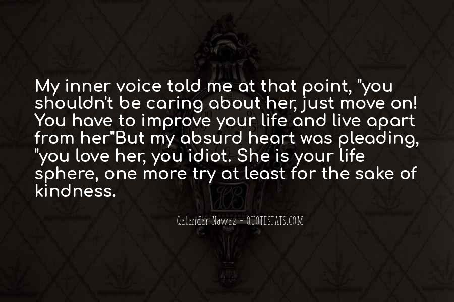 Can't Move On Love Quotes #152469