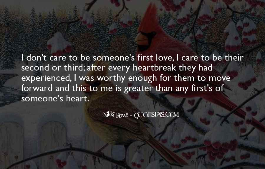 Can't Move On Love Quotes #196143