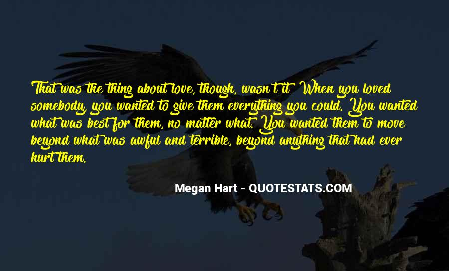 Can't Move On Love Quotes #75524