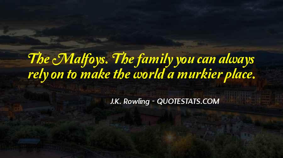 Can't Rely On Family Quotes #1153944