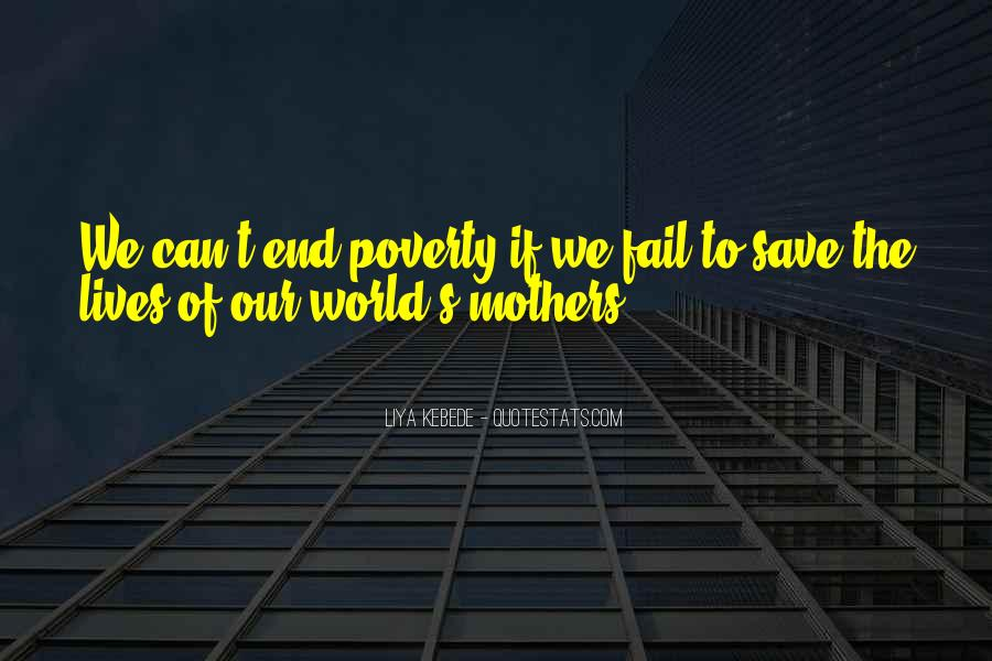 Can't Save The World Quotes #124755
