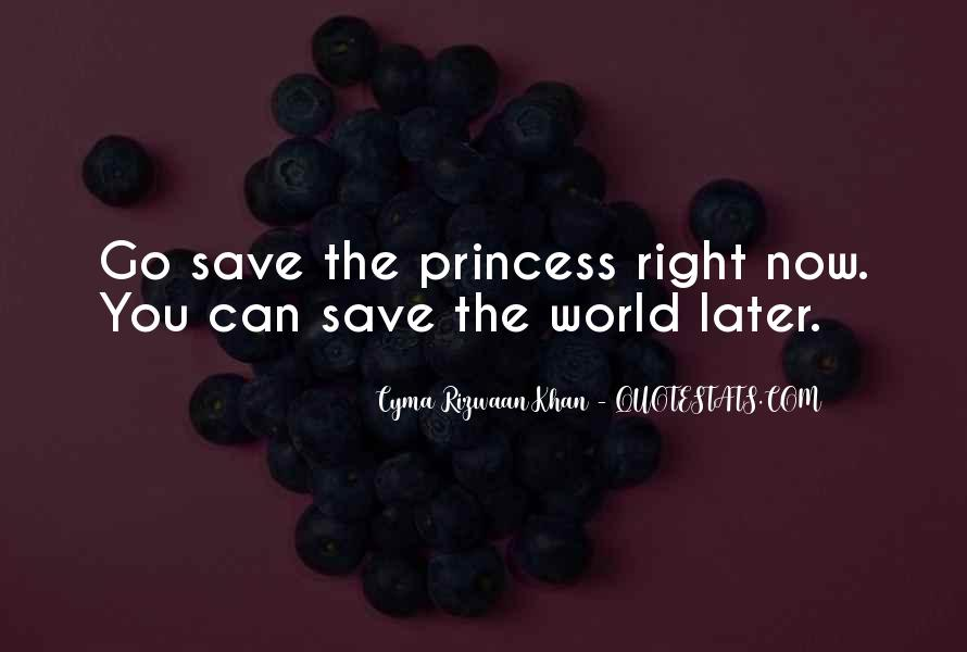 Can't Save The World Quotes #338598