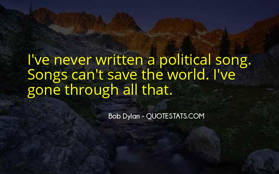 Can't Save The World Quotes #407925