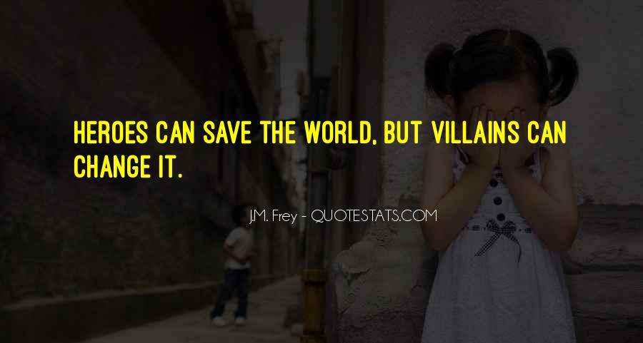 Can't Save The World Quotes #836531
