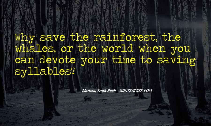 Can't Save The World Quotes #891181
