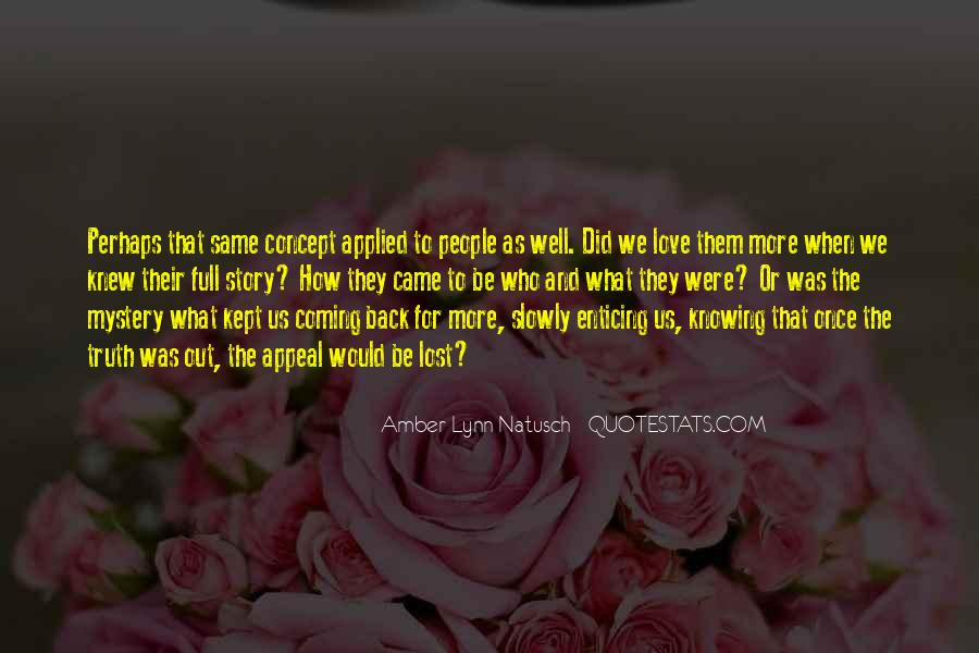 Can't Say I Love You Quotes #294