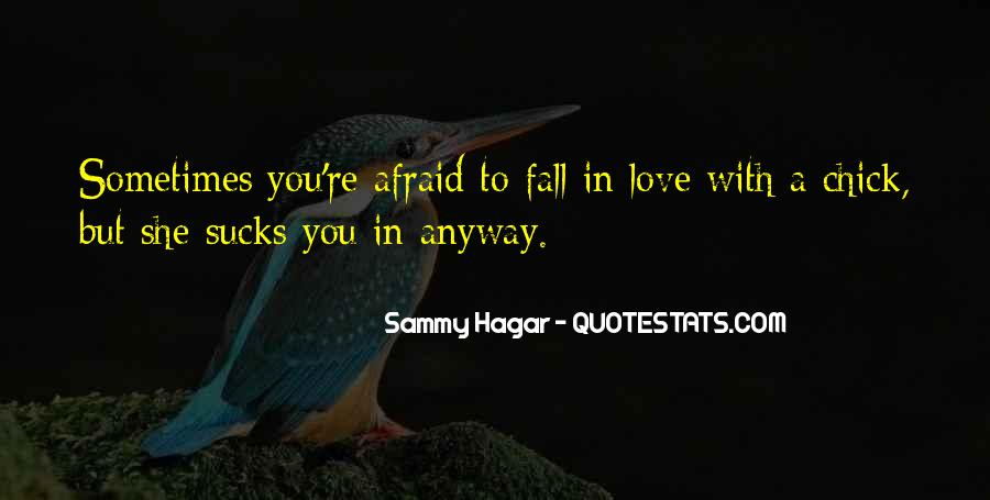 Can't Say I Love You Quotes #712