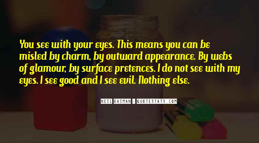 Can't See My Eyes Quotes #122761