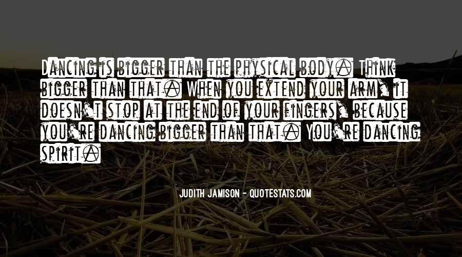 Can't Stop Dancing Quotes #1118204