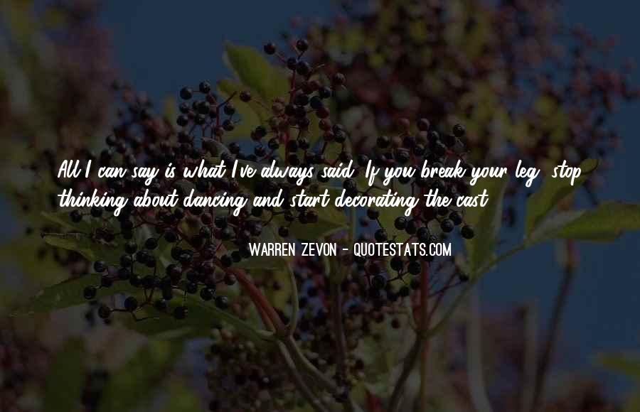 Can't Stop Dancing Quotes #1386944