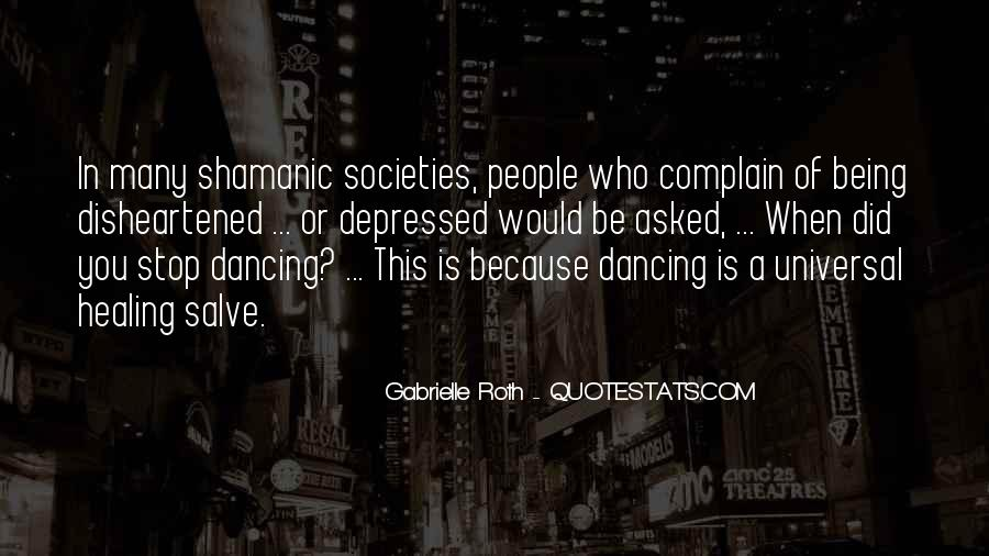 Can't Stop Dancing Quotes #1394032