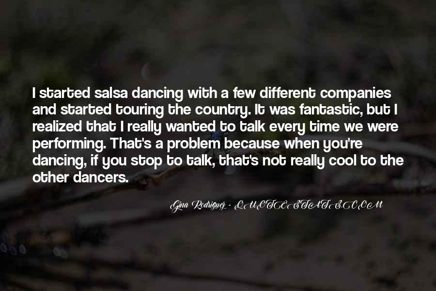 Can't Stop Dancing Quotes #1448626