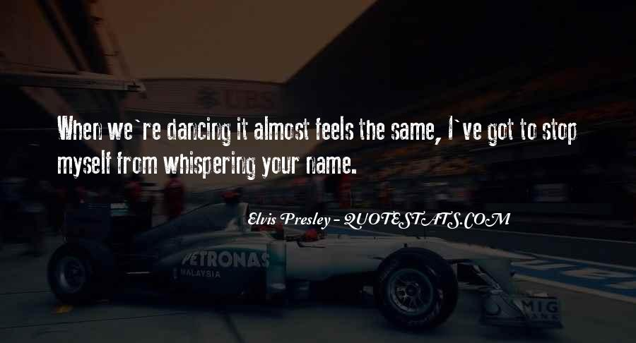 Can't Stop Dancing Quotes #1634406