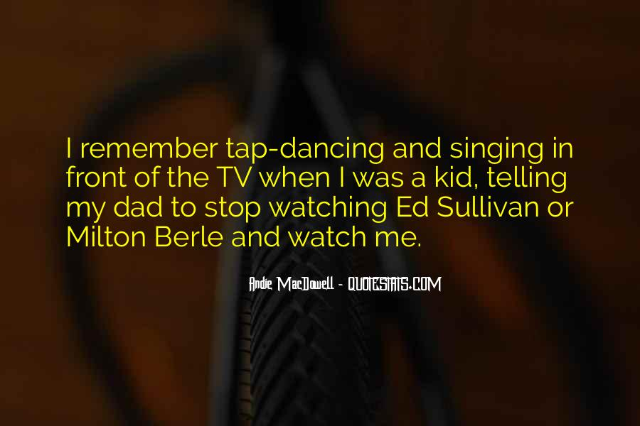 Can't Stop Dancing Quotes #262169