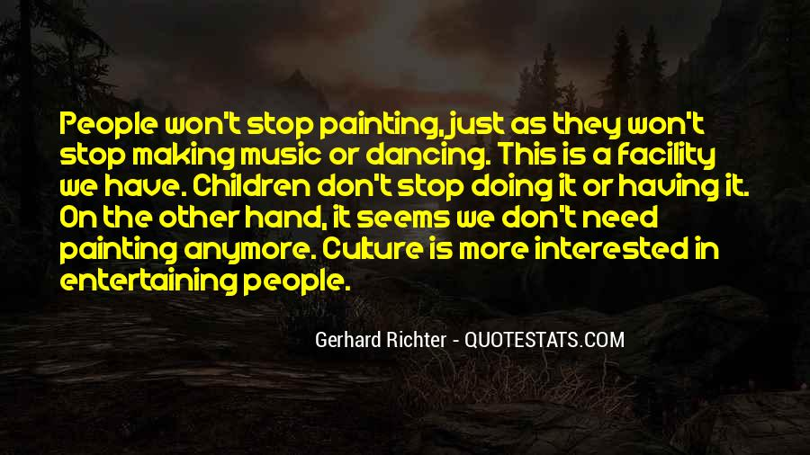 Can't Stop Dancing Quotes #437381