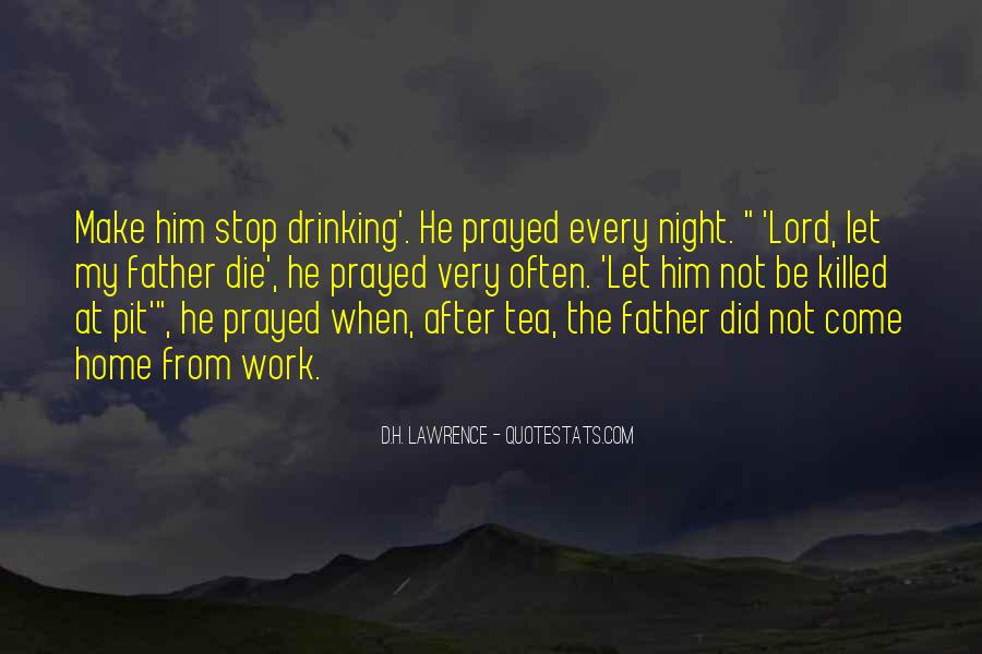Can't Stop Drinking Quotes #1158784