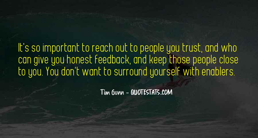 Can't Trust You Quotes #136035