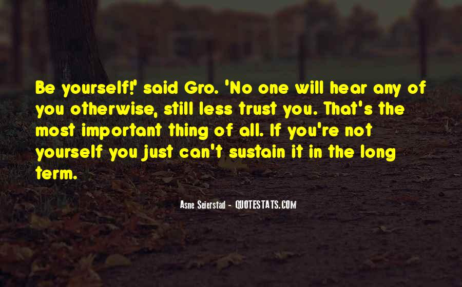 Can't Trust You Quotes #181791
