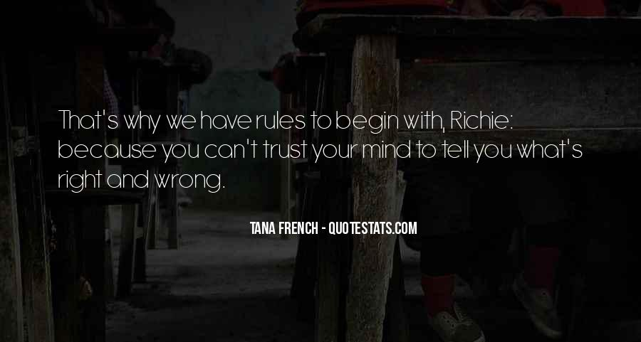 Can't Trust You Quotes #221168