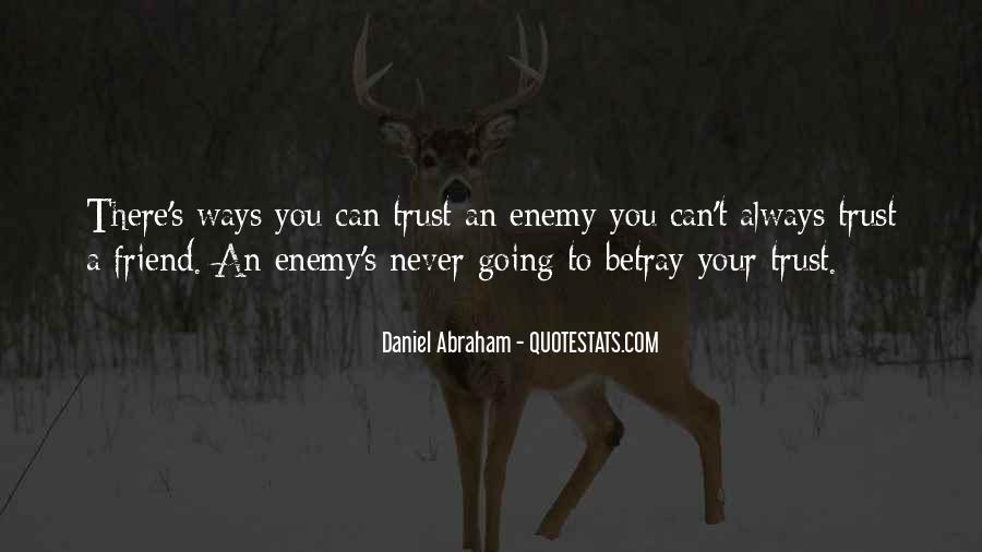 Can't Trust You Quotes #28356