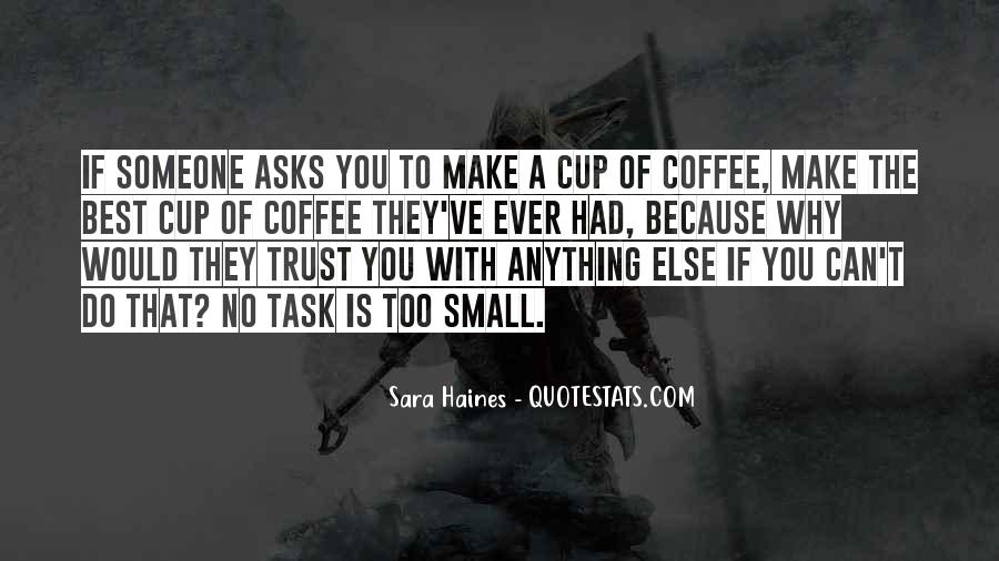 Can't Trust You Quotes #49546