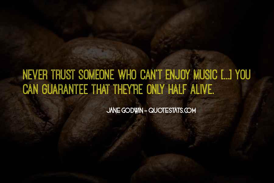 Can't Trust You Quotes #61083