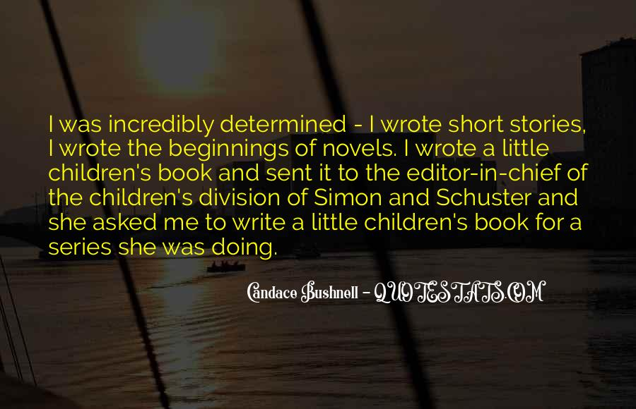 Candace Bushnell Book Quotes #1670477