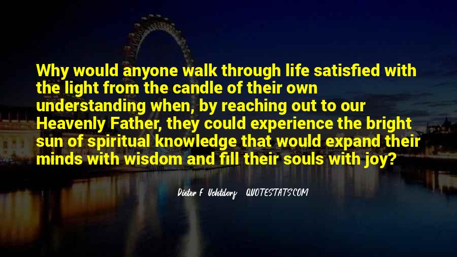 Candle Light Life Quotes #1176595