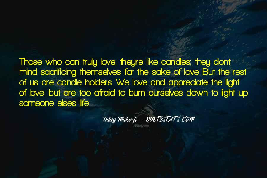 Candle Light Life Quotes #1244703