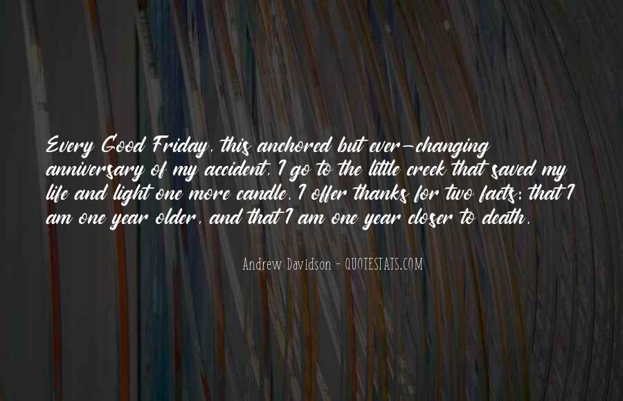 Candle Light Life Quotes #1317096