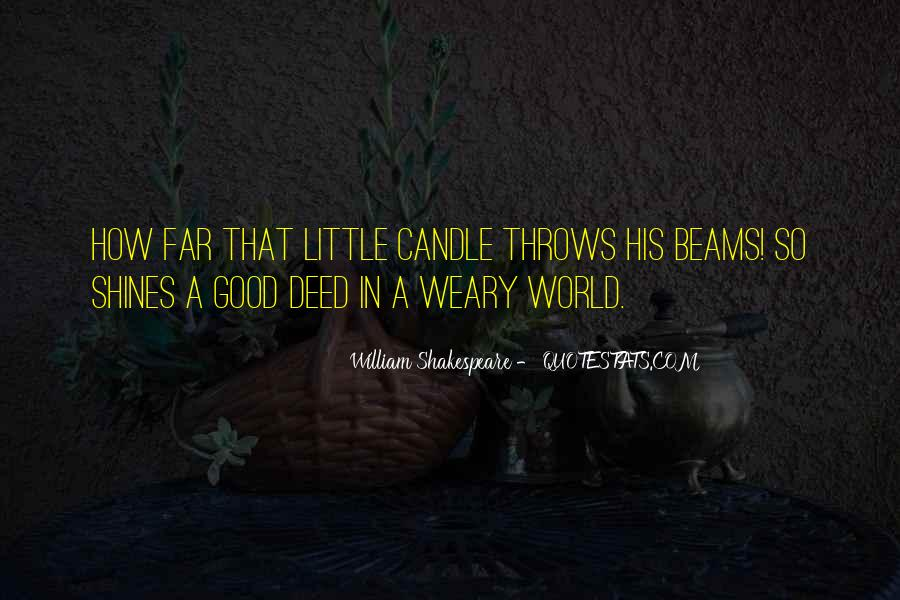 Candle Light Life Quotes #151903