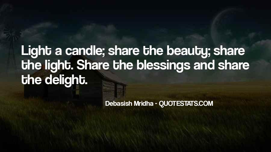 Candle Light Life Quotes #1658326