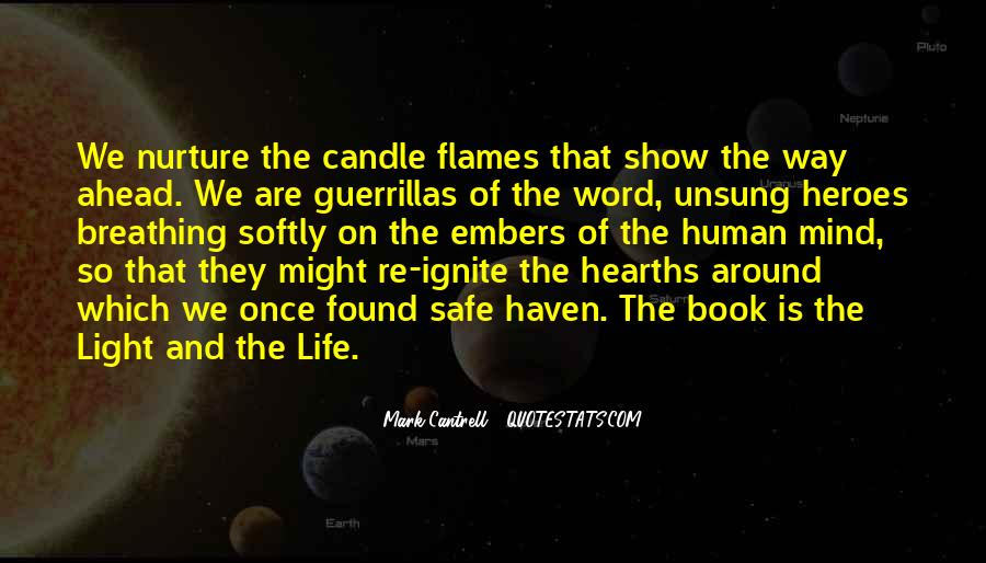 Candle Light Life Quotes #307061