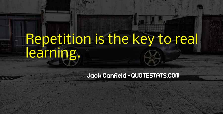 Canfield Quotes #117160