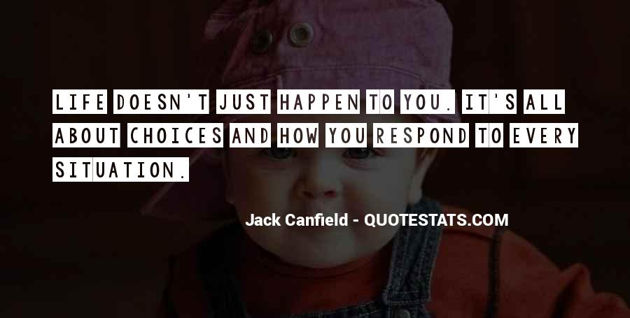 Canfield Quotes #14585