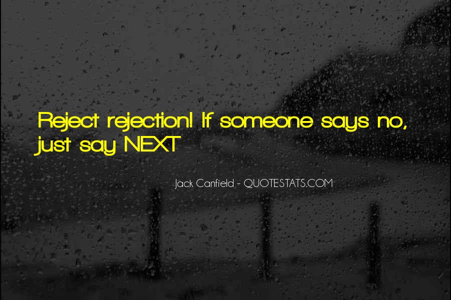 Canfield Quotes #161098