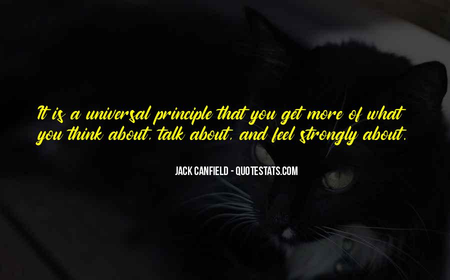 Canfield Quotes #470174