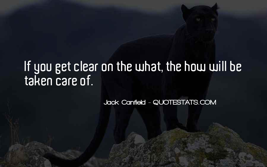 Canfield Quotes #543931