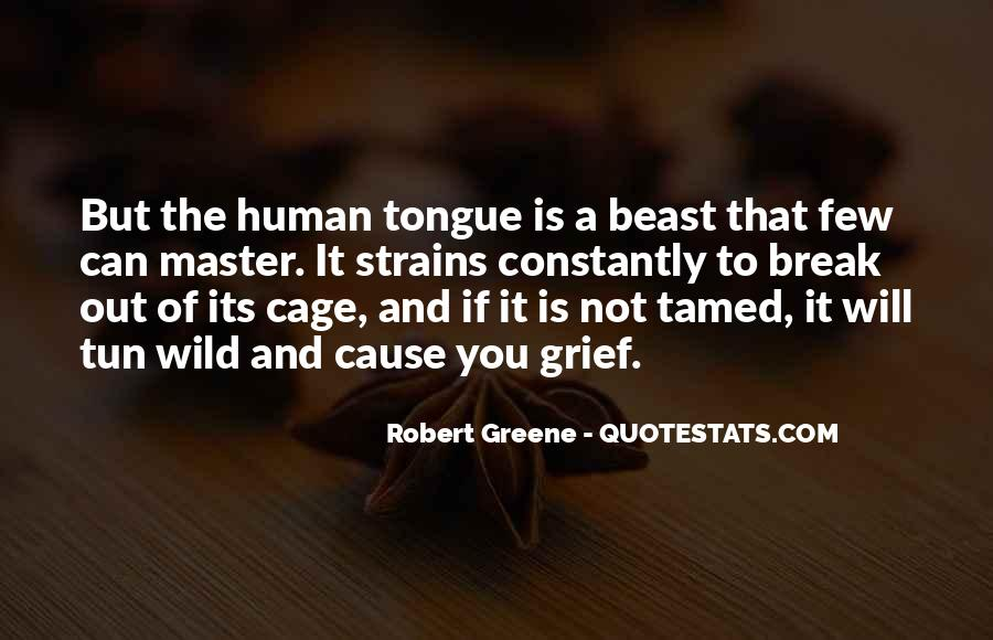 Cannot Be Tamed Quotes #225105