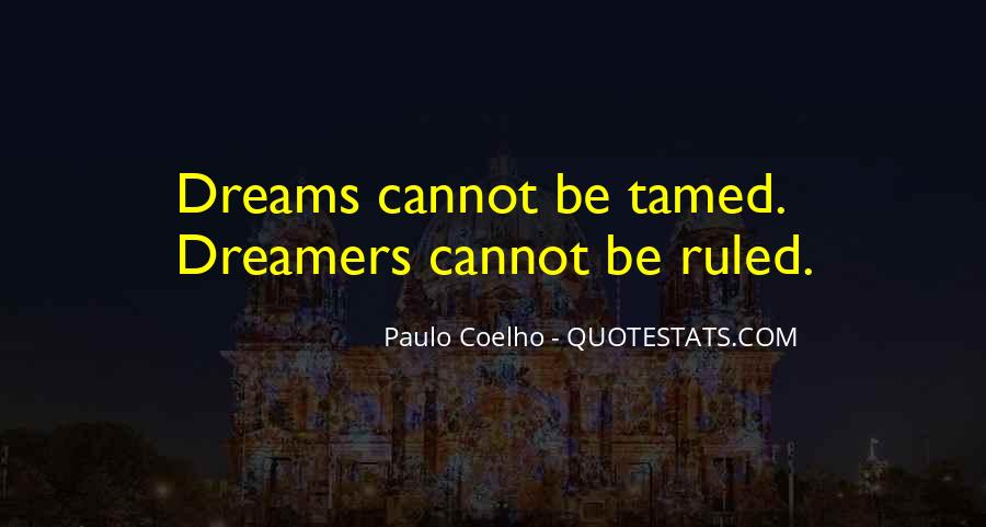 Cannot Be Tamed Quotes #813928