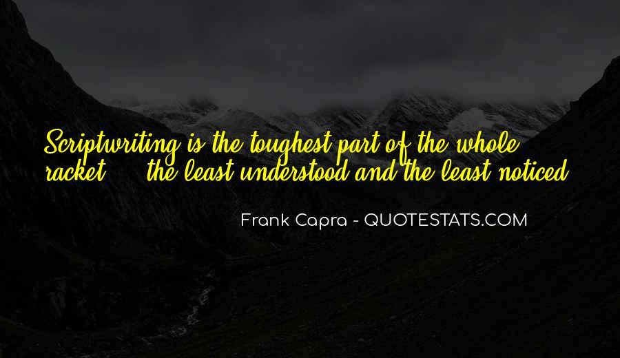 Capra Quotes #237584