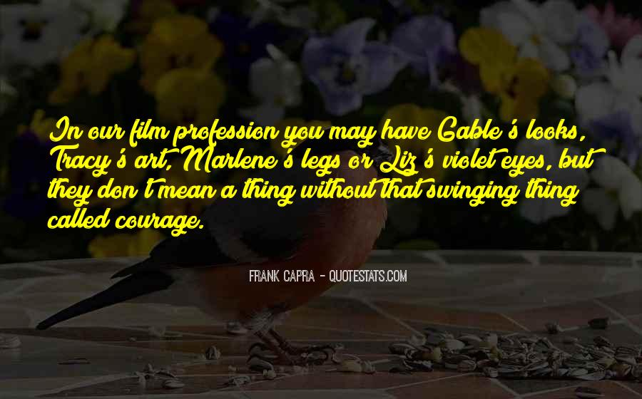 Capra Quotes #328636