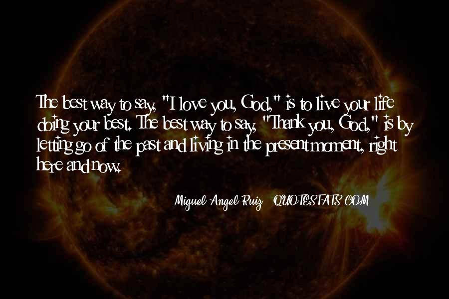 Quotes About Living Right For God #1597525