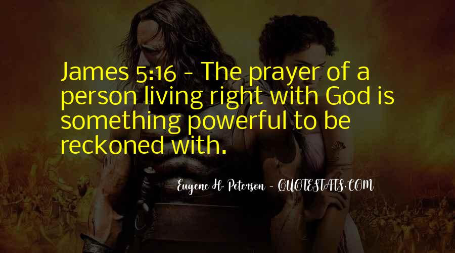 Quotes About Living Right For God #1647674