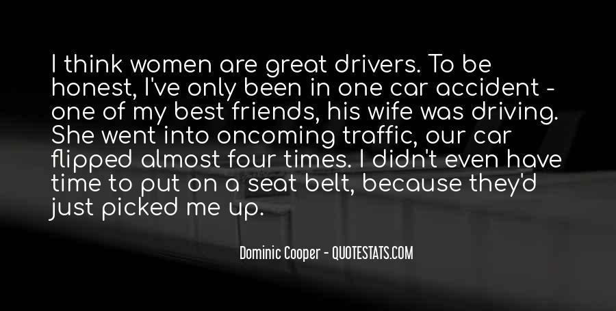 Car Seat Belt Quotes #1667899
