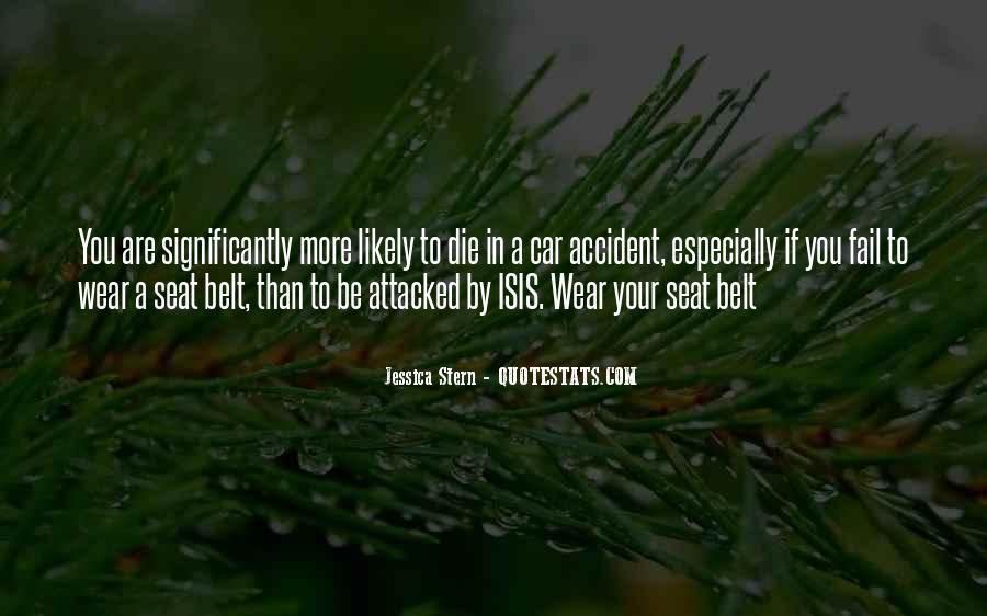 Car Seat Belt Quotes #20509