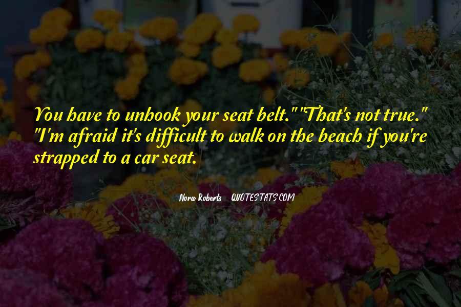 Car Seat Belt Quotes #840754