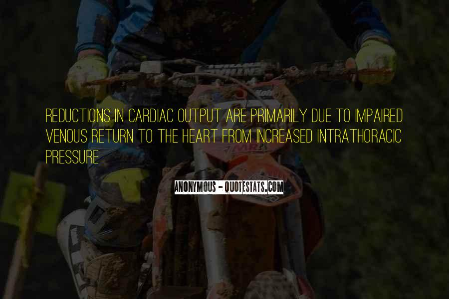Cardiac Quotes #81627
