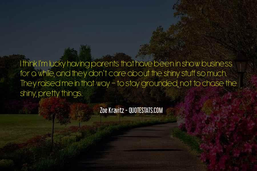 Care For Parents Quotes #1458710